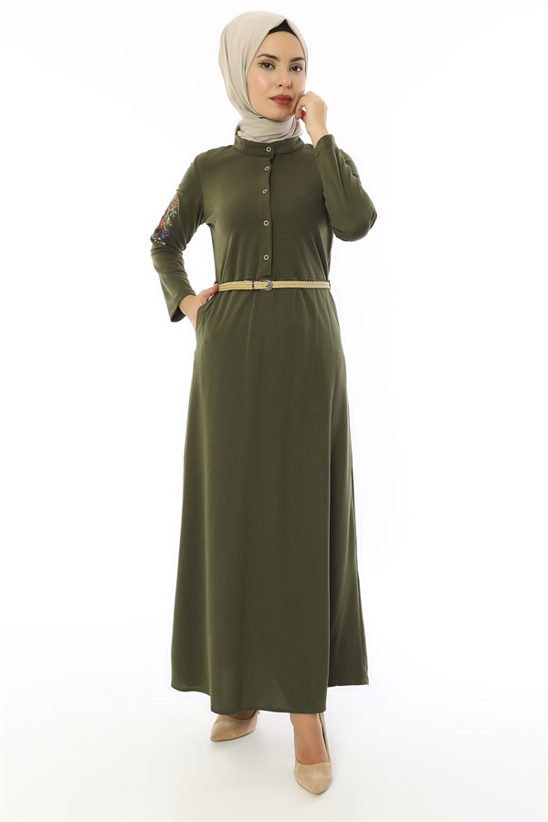 Apsen Green Mira Dress 3415