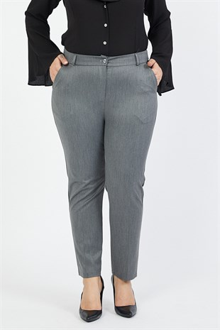 Plus Size Ankle Length Trousers 206/95 PB