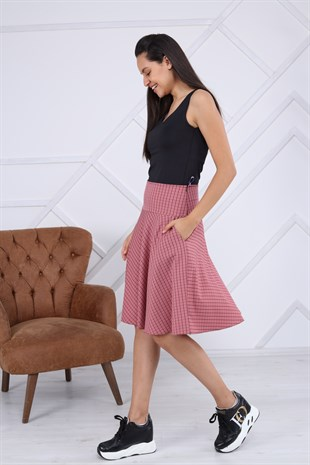 Apsen Short Pleated Skirt 2149/63