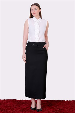 Belted Pencil Skirt  2105/95