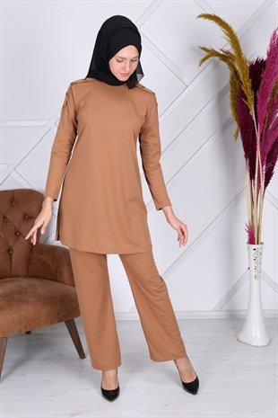 Apsen Womens Hijab Double Suit 7019/87