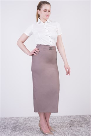 Pencil Polyvision Skirt 2092/95