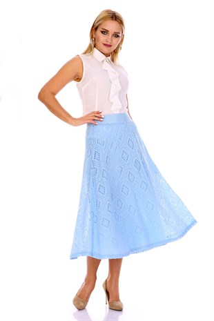 Apsen New Season Flared Skirt